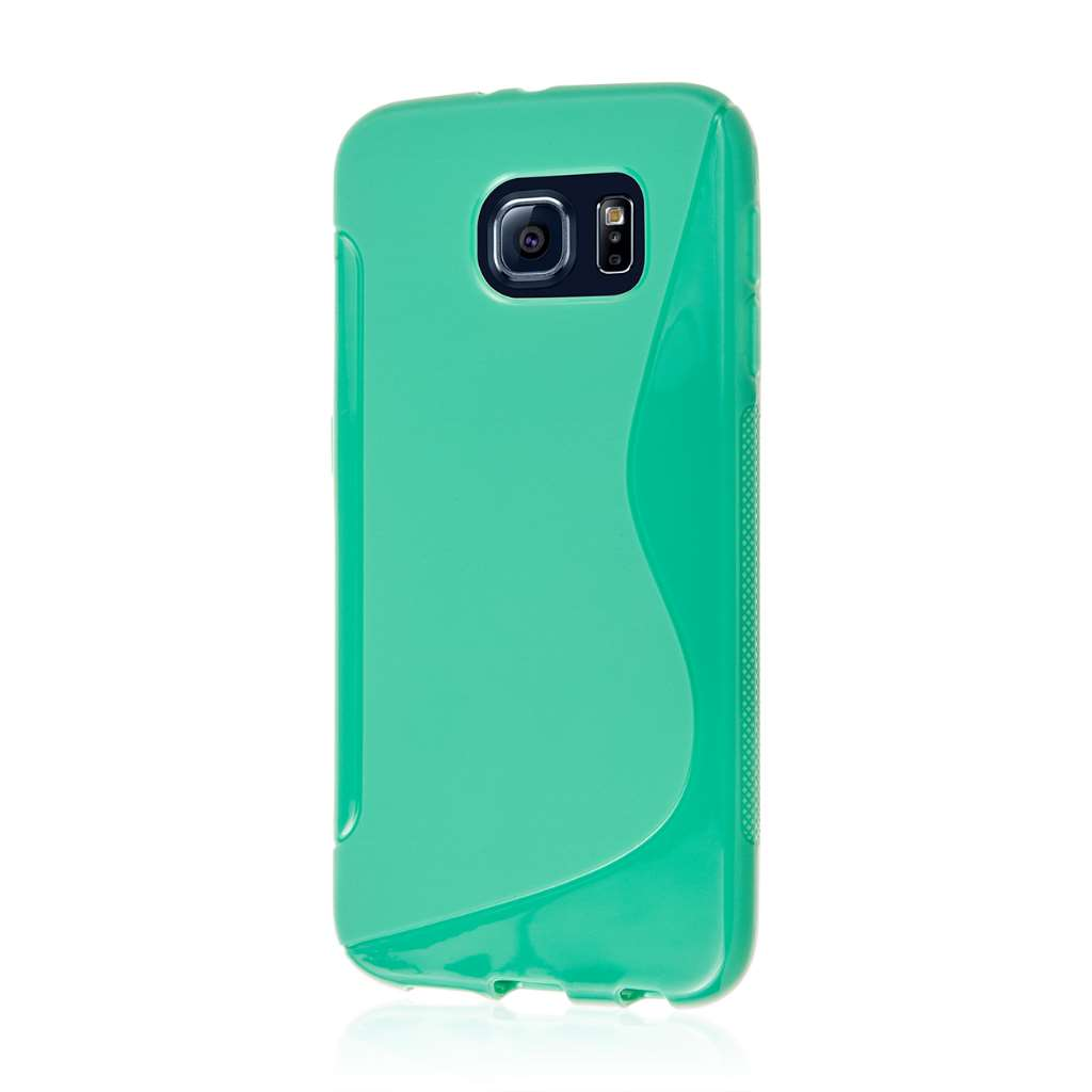 Samsung Galaxy S6 - Mint Green MPERO FLEX S - Protective Case Cover