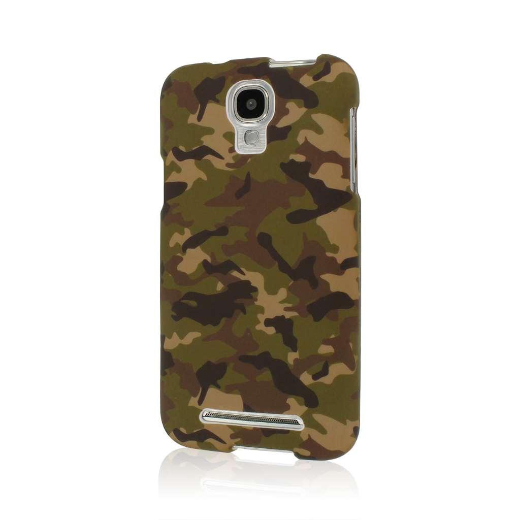 Samsung ATIV SE - Green Camo MPERO SNAPZ - Case Cover