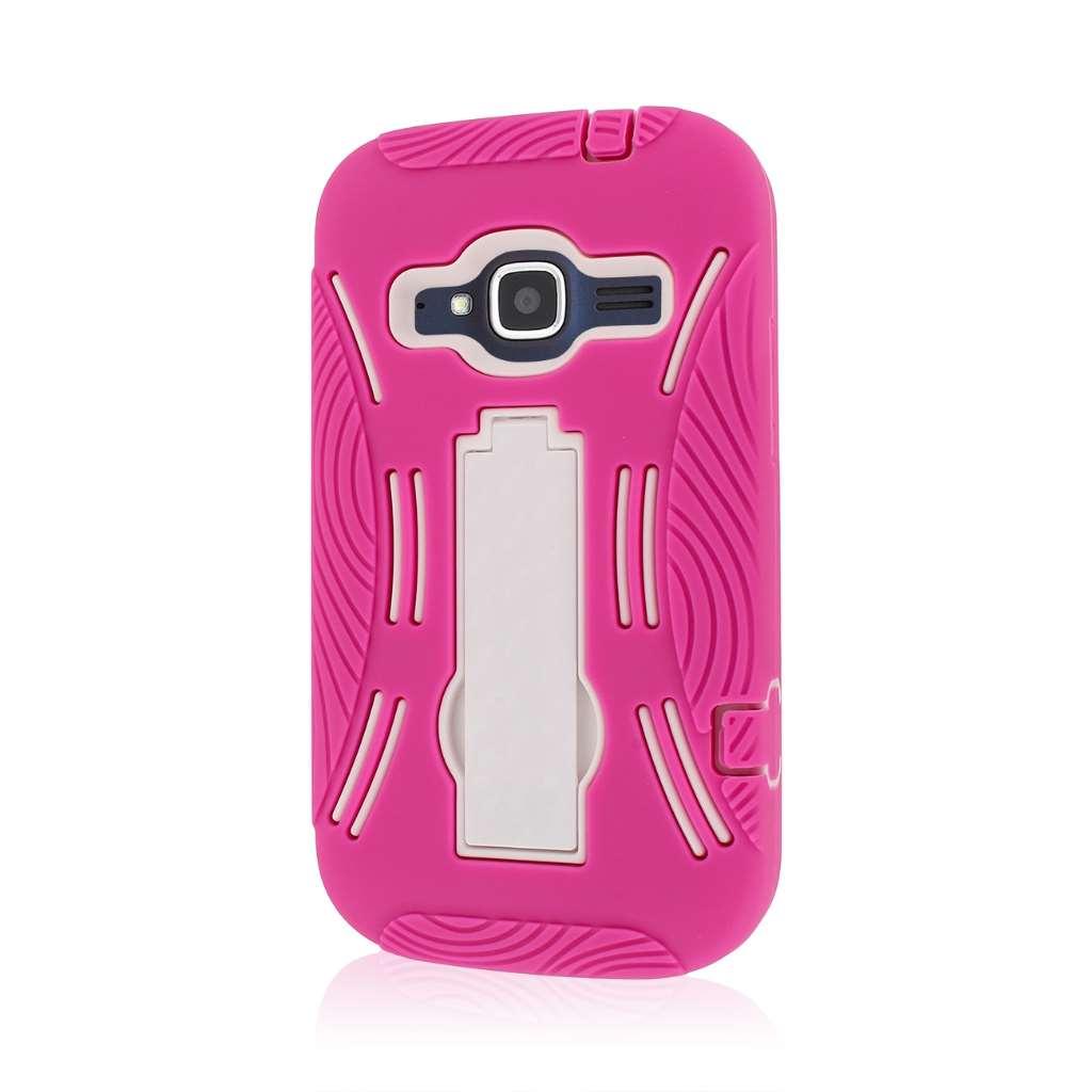 ZTE Concord 2 - Hot Pink MPERO IMPACT XL - Kickstand Case Cover