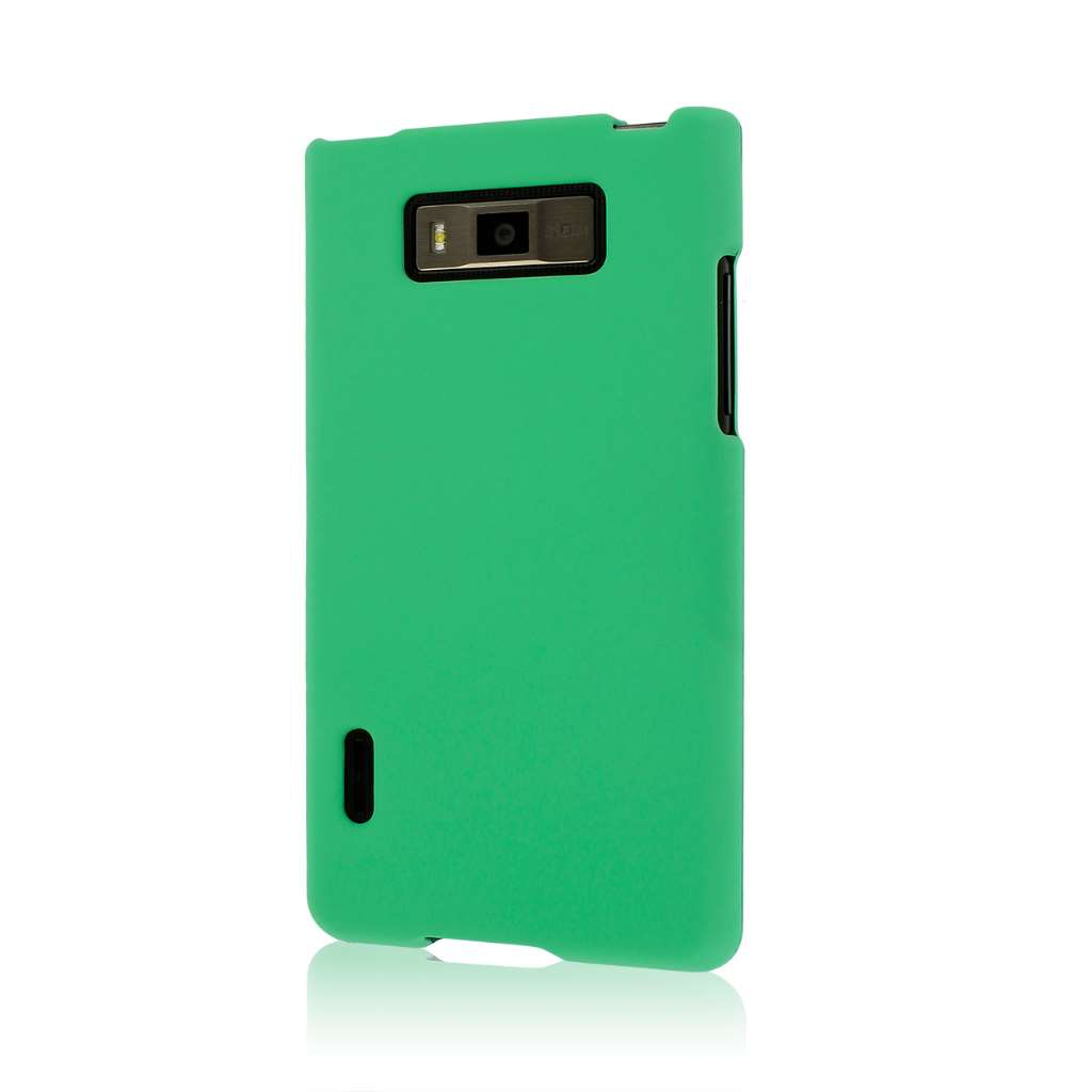 LG Splendor - Mint Green MPERO SNAPZ - Rubberized Case Cover