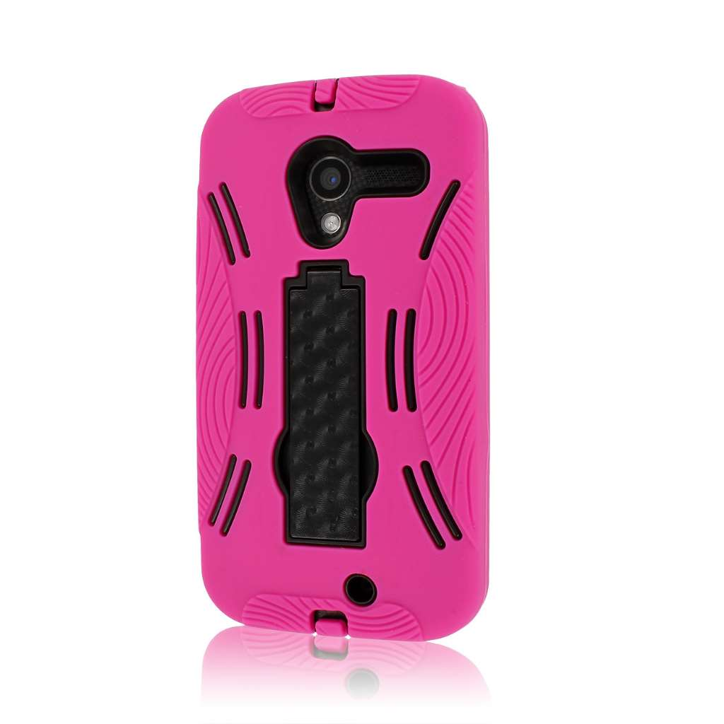 Motorola Moto X XT1060 - Hot Pink MPERO IMPACT XL - Stand Case