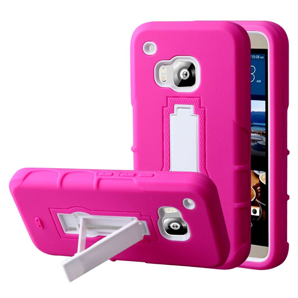HTC One M9 - Hot Pink MPERO IMPACT XS - Kickstand Case Cover
