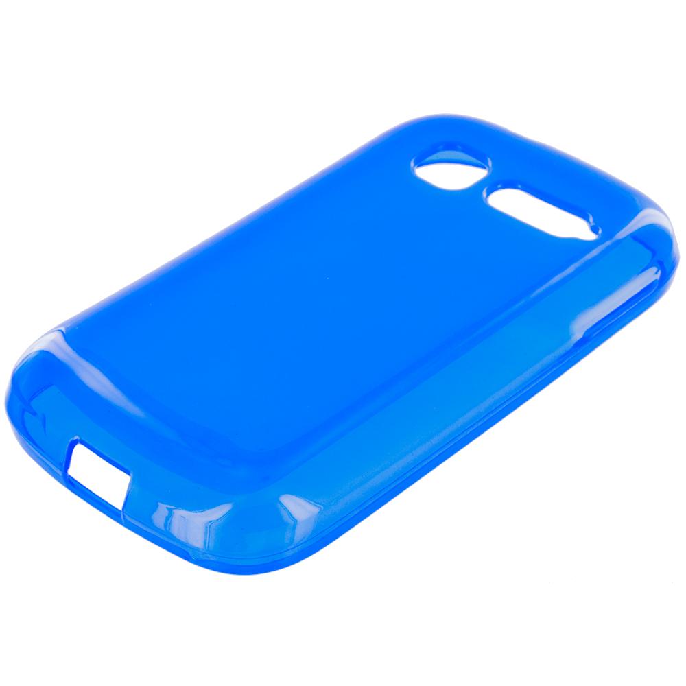 Alcatel One Touch Pop C1 Blue TPU Rubber Skin Case Cover