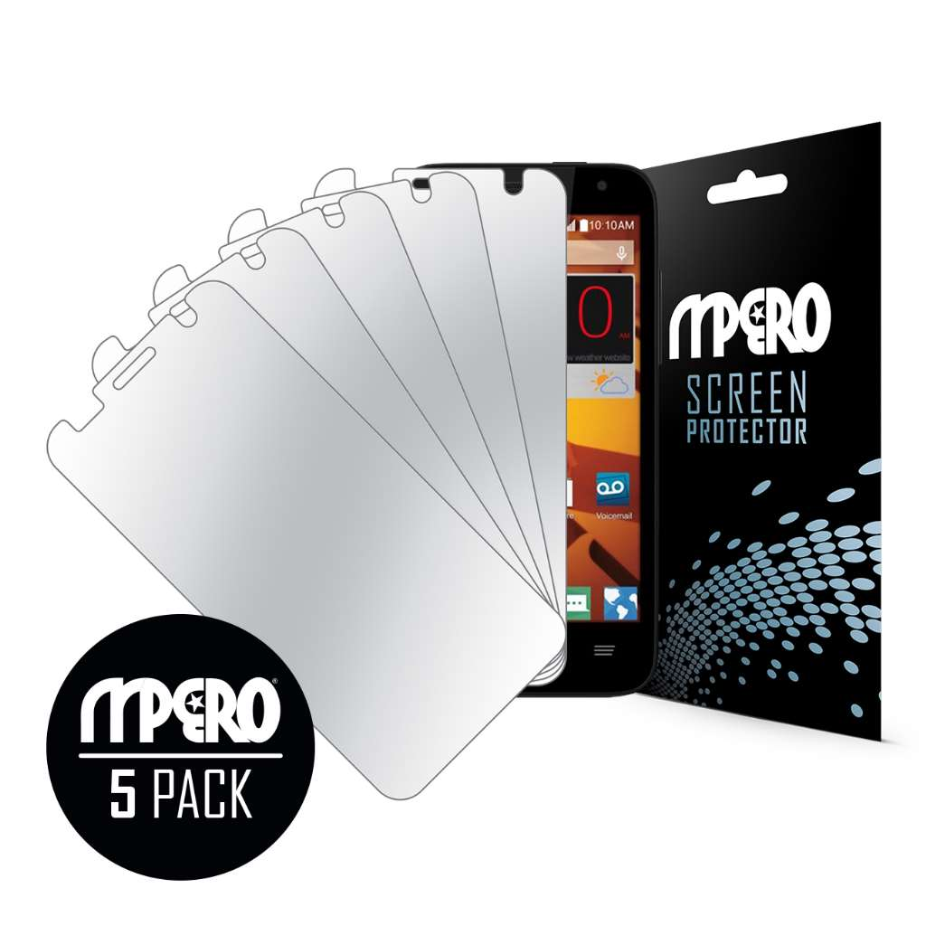 ZTE Speed MPERO 5 Pack of Mirror Screen Protectors