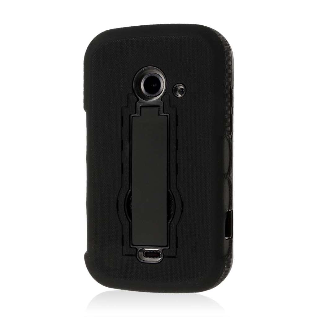 ZTE Prelude 2 - Black MPERO IMPACT XS - Kickstand Case Cover