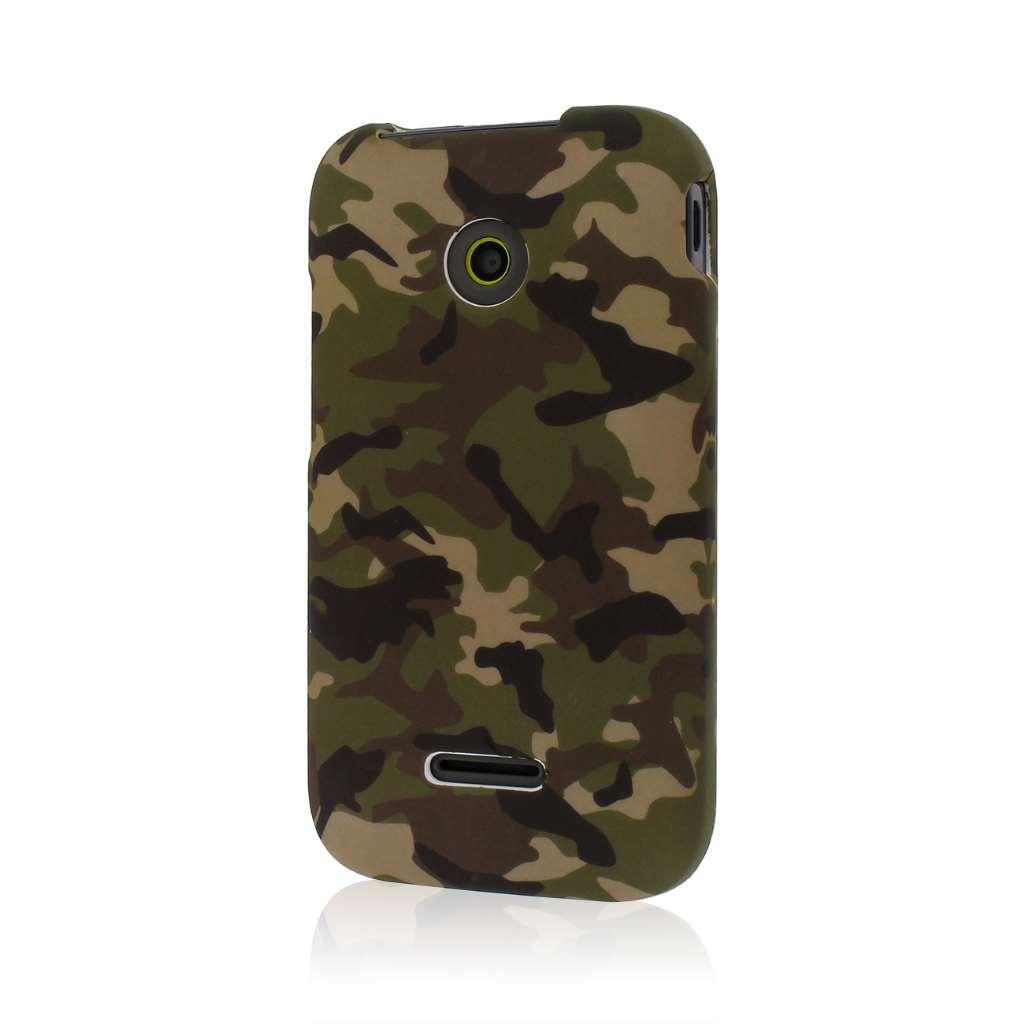 Huawei Prism 2 - Green Camo MPERO SNAPZ - Case Cover