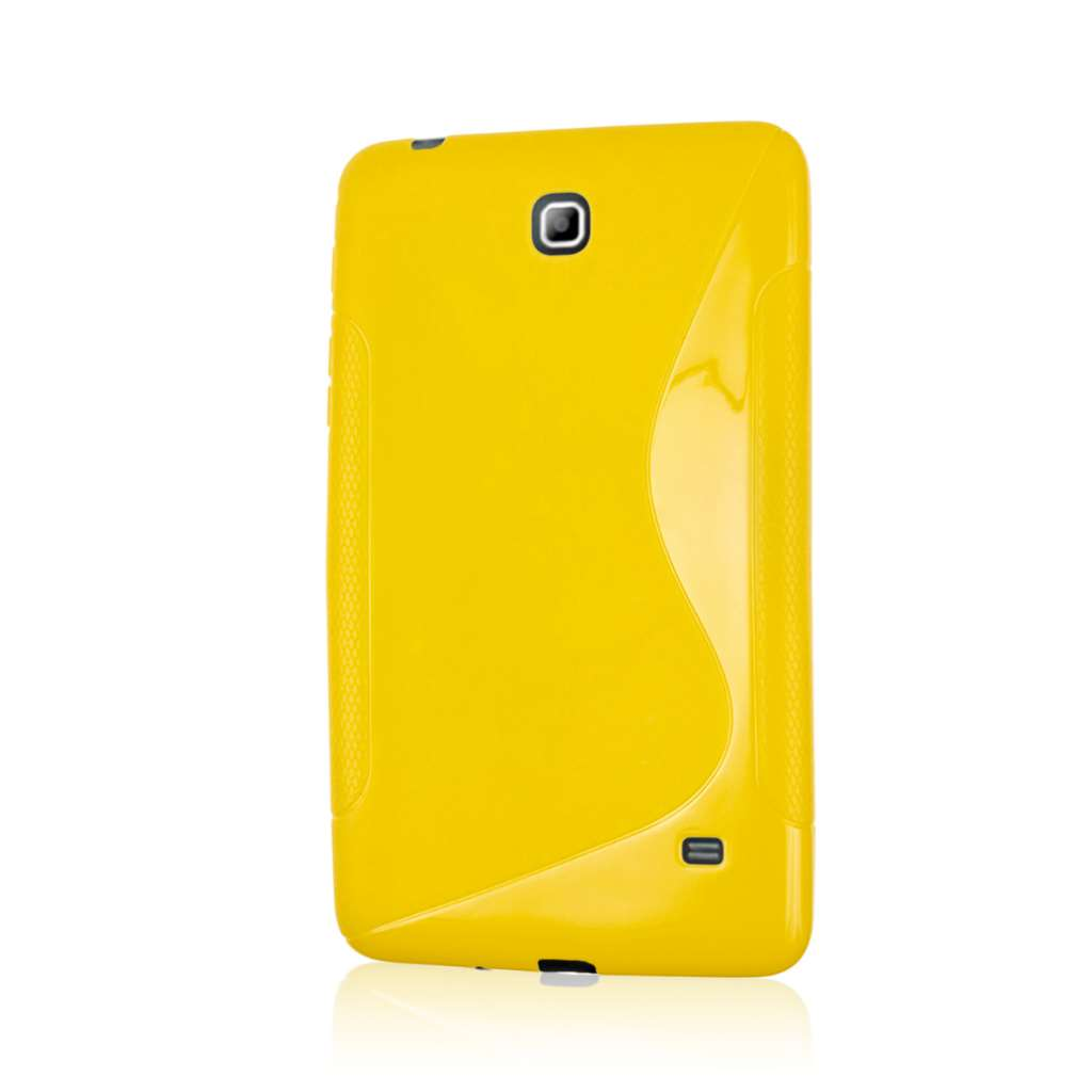 Samsung Galaxy Tab 4 7.0 - Yellow MPERO FLEX S - Protective Case Cover
