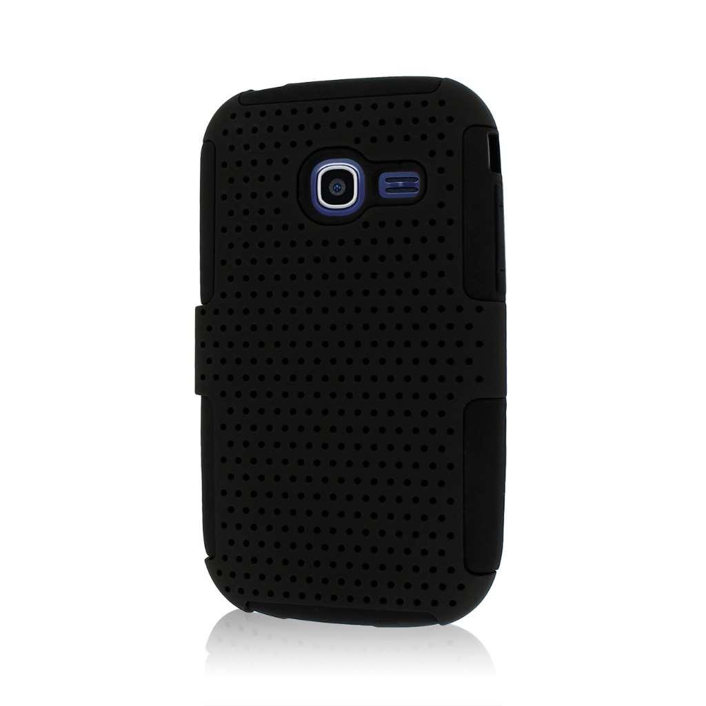 Samsung Freeform 5 R480 - Black MPERO FUSION M - Protective Case Cover
