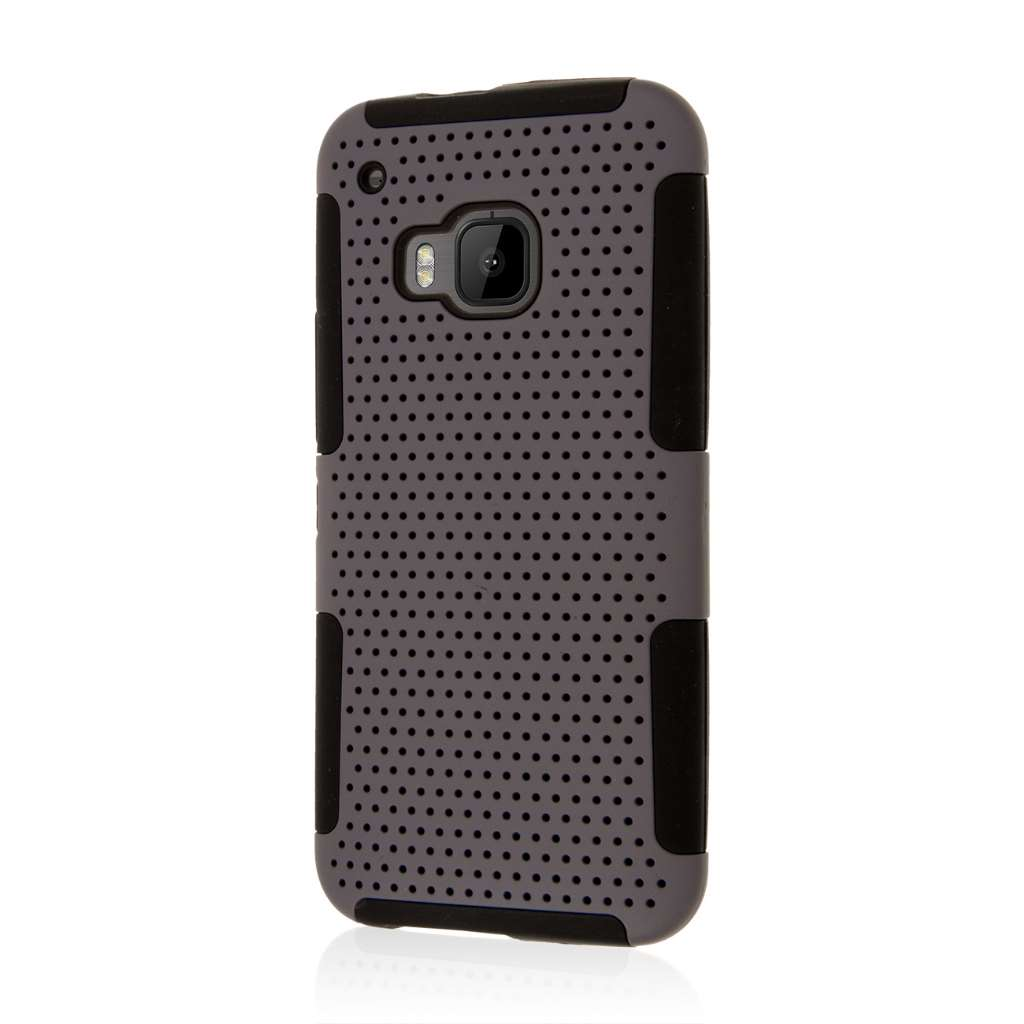 HTC One M9 - Gray MPERO FUSION M - Protective Case Cover