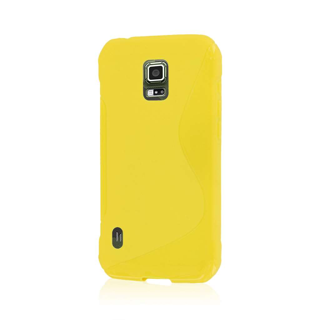 Samsung Galaxy S5 Active - Yellow MPERO FLEX S - Protective Case Cover