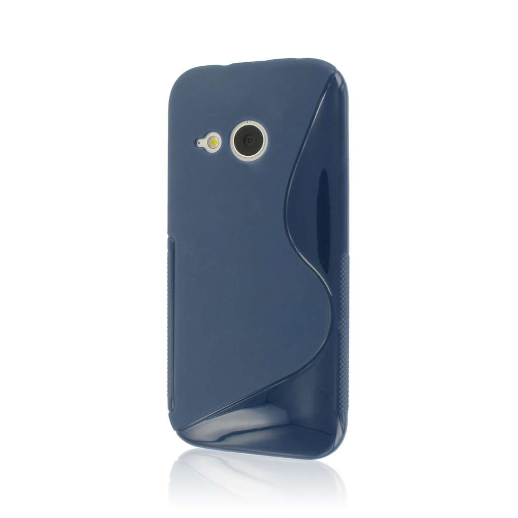 HTC One Mini 2 - Navy Blue MPERO FLEX S - Protective Case Cover