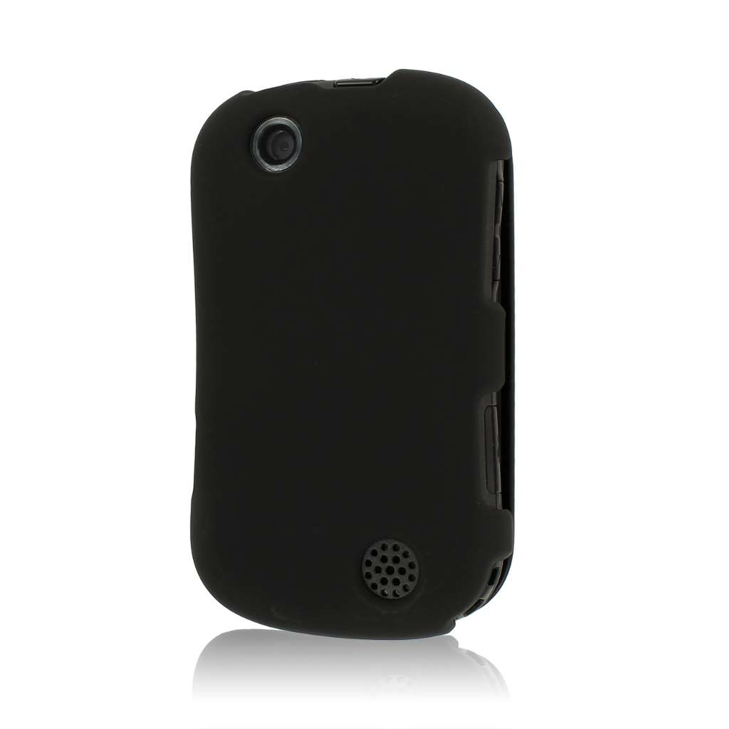 Kyocera Milano - Black MPERO SNAPZ - Rubberized Case Cover