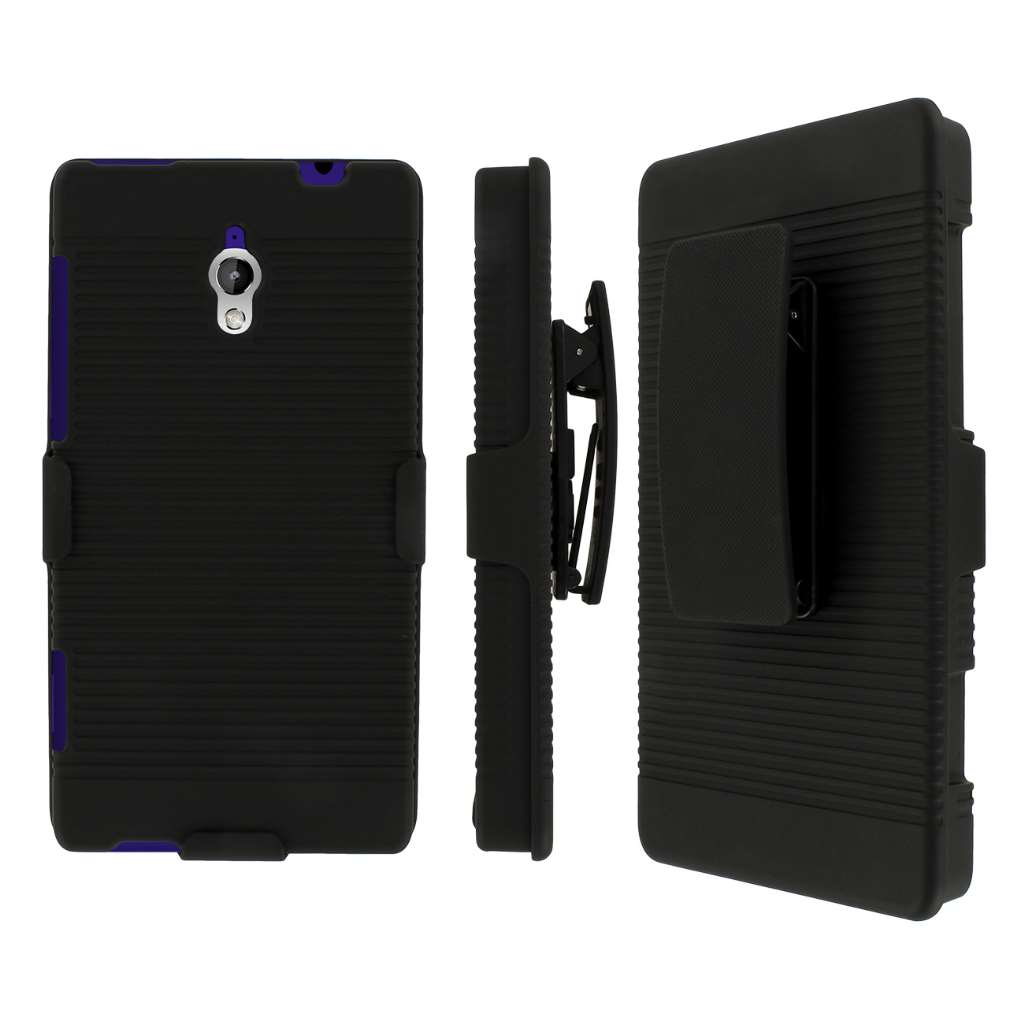 HTC 8XT MPERO 3 in 1 Tough Kickstand Case Cover