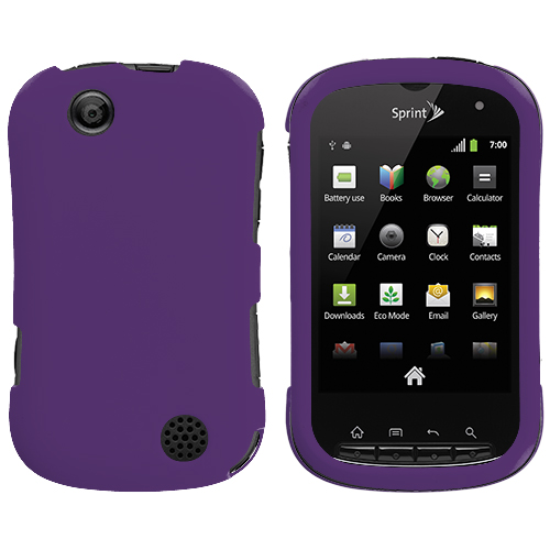 Sony Kyocera Milano Purple Hard Rubberized Case Cover
