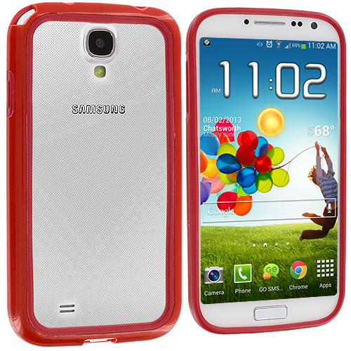 Samsung Galaxy S4 Red / Red TPU Bumper