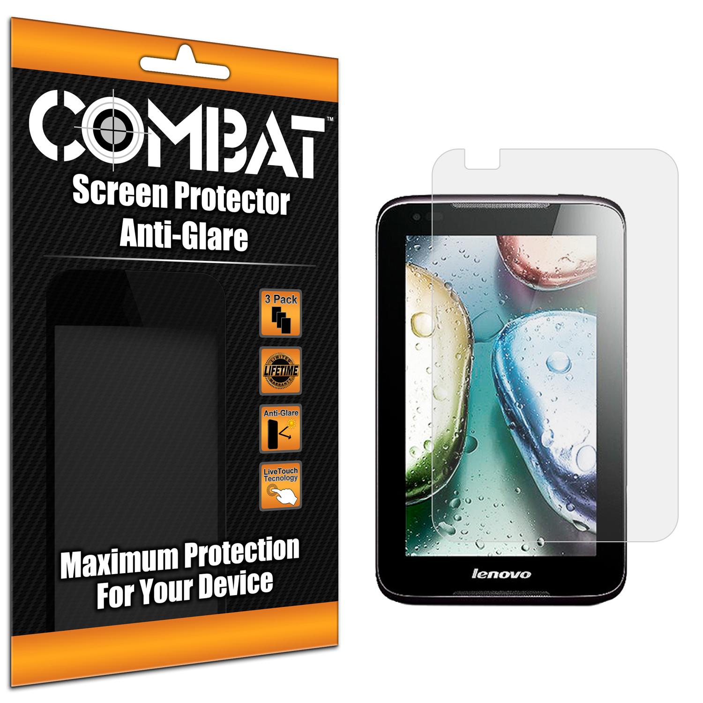 Lenovo IdeaTab A1000 Combat 3 Pack Anti-Glare Matte Screen Protector