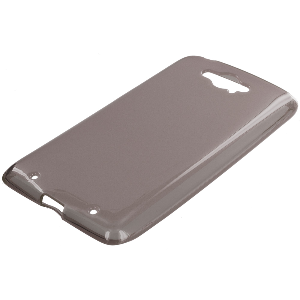 Motorola Droid Turbo Smoke TPU Rubber Skin Case Cover