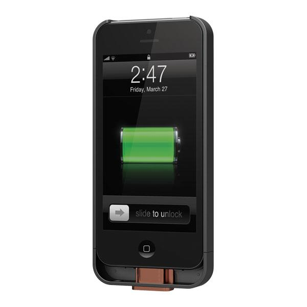iPhone 5/5S/SE - Black Duracell PowerMat PowerSnap Kit