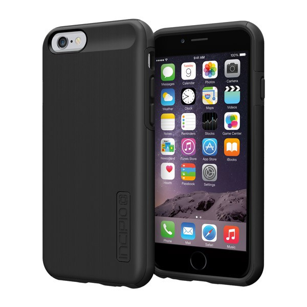 iPhone 6/6S - Black/Black Incipio DualPro Shine Case Cover