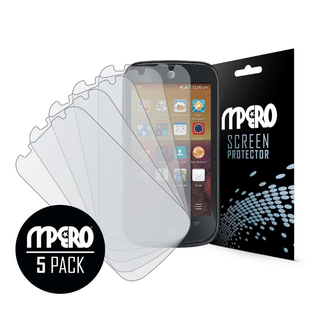 ZTE Compel MPERO 5 Pack of Matte Screen Protectors