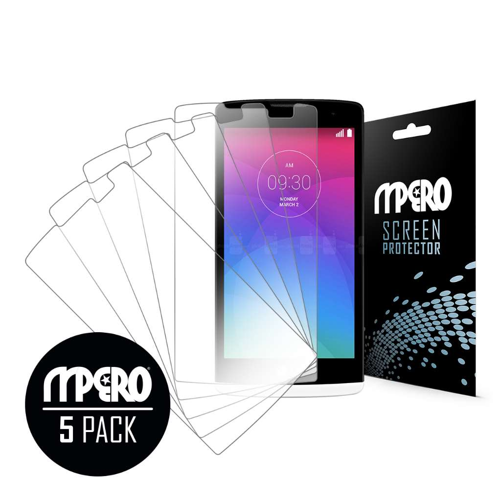 LG Leon MPERO 5 Pack of Ultra Clear Screen Protectors