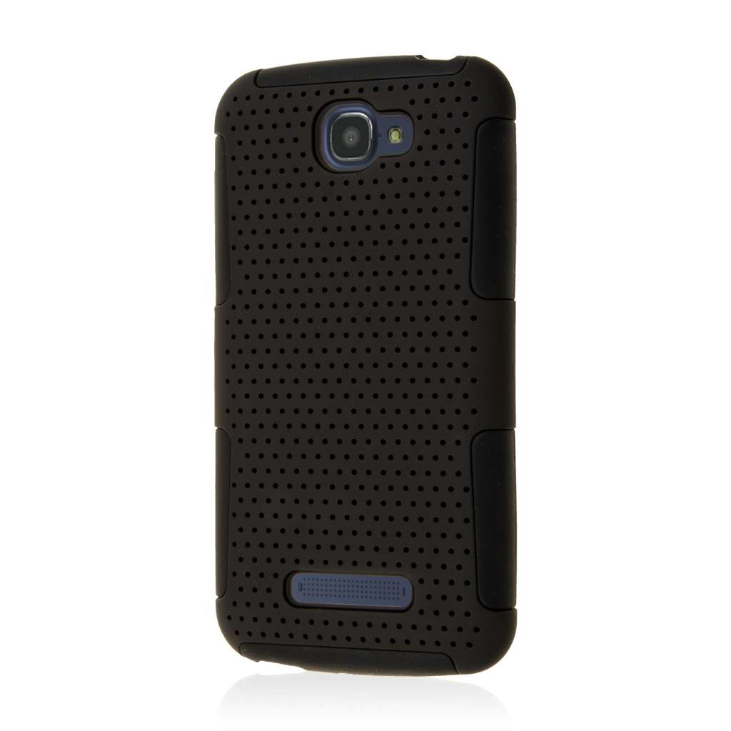 Alcatel OneTouch Fierce 2 - Black MPERO FUSION M - Protective Case Cover