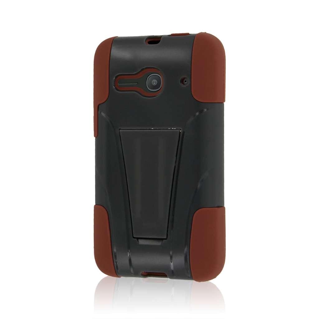 Alcatel OneTouch Evolve 2 - Sandstone / Gray MPERO IMPACT X - Kickstand Case
