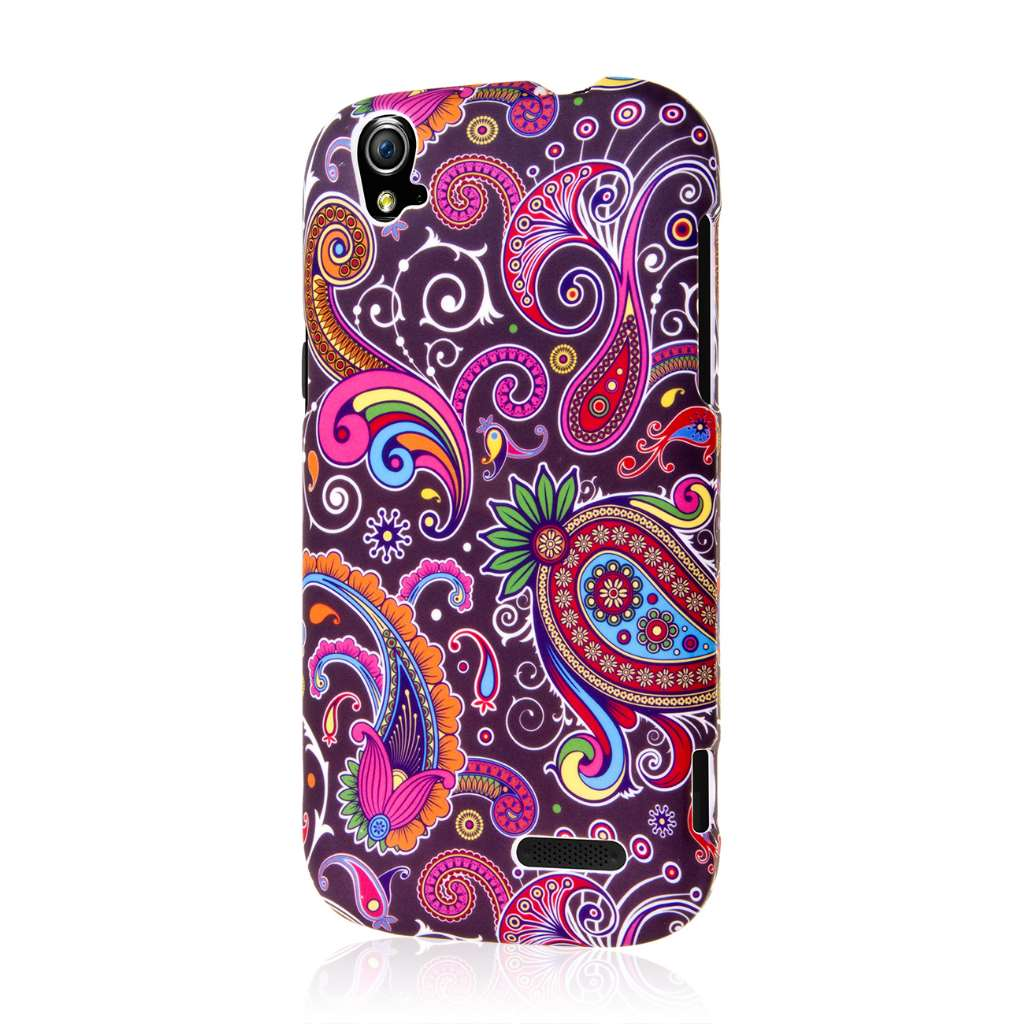ZTE Grand X Z777 - Black Paisley MPERO SNAPZ - Case Cover