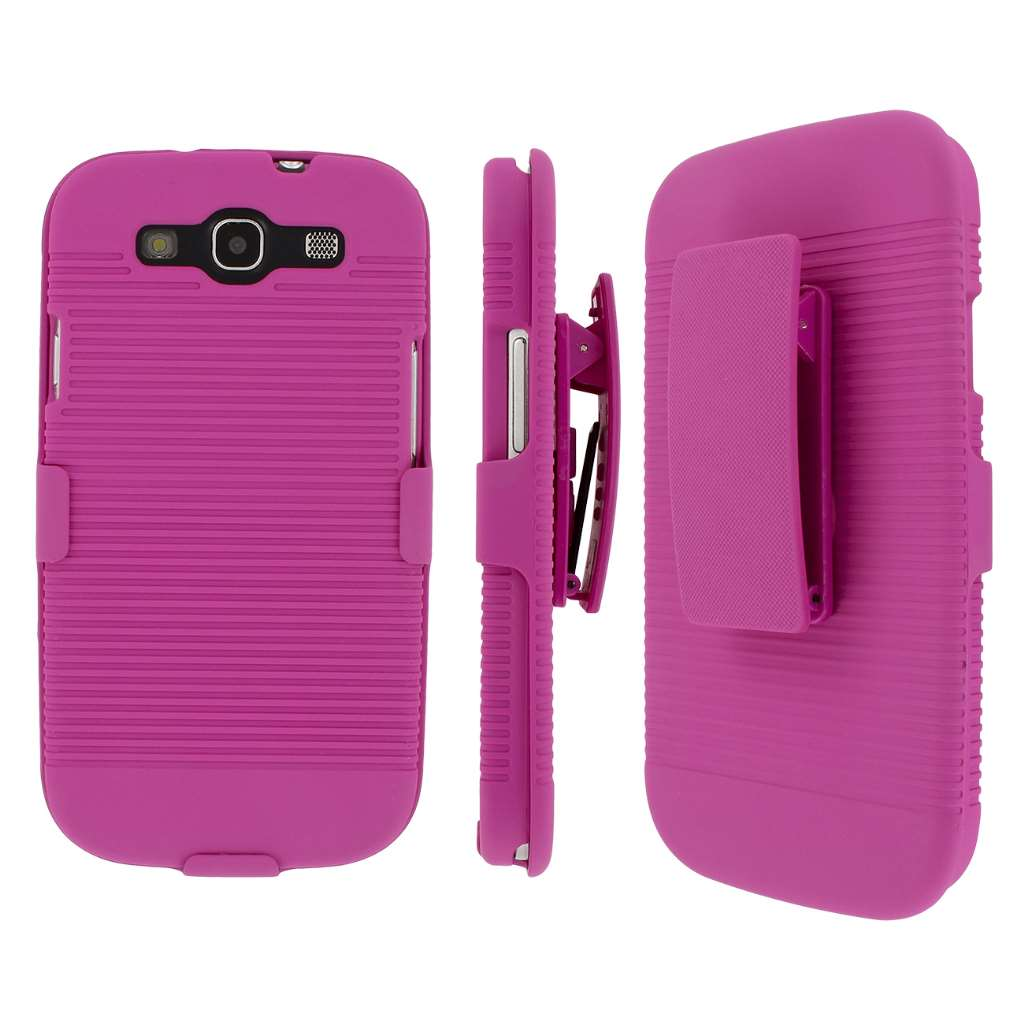 Samsung Galaxy S3 MPERO 3 in 1 Tough Kickstand Case Cover