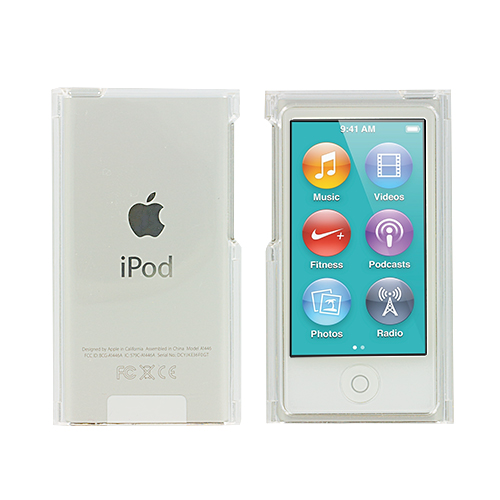 Apple iPod Nano 7th Generation Clear Crystal Transparent Hard Case Cover