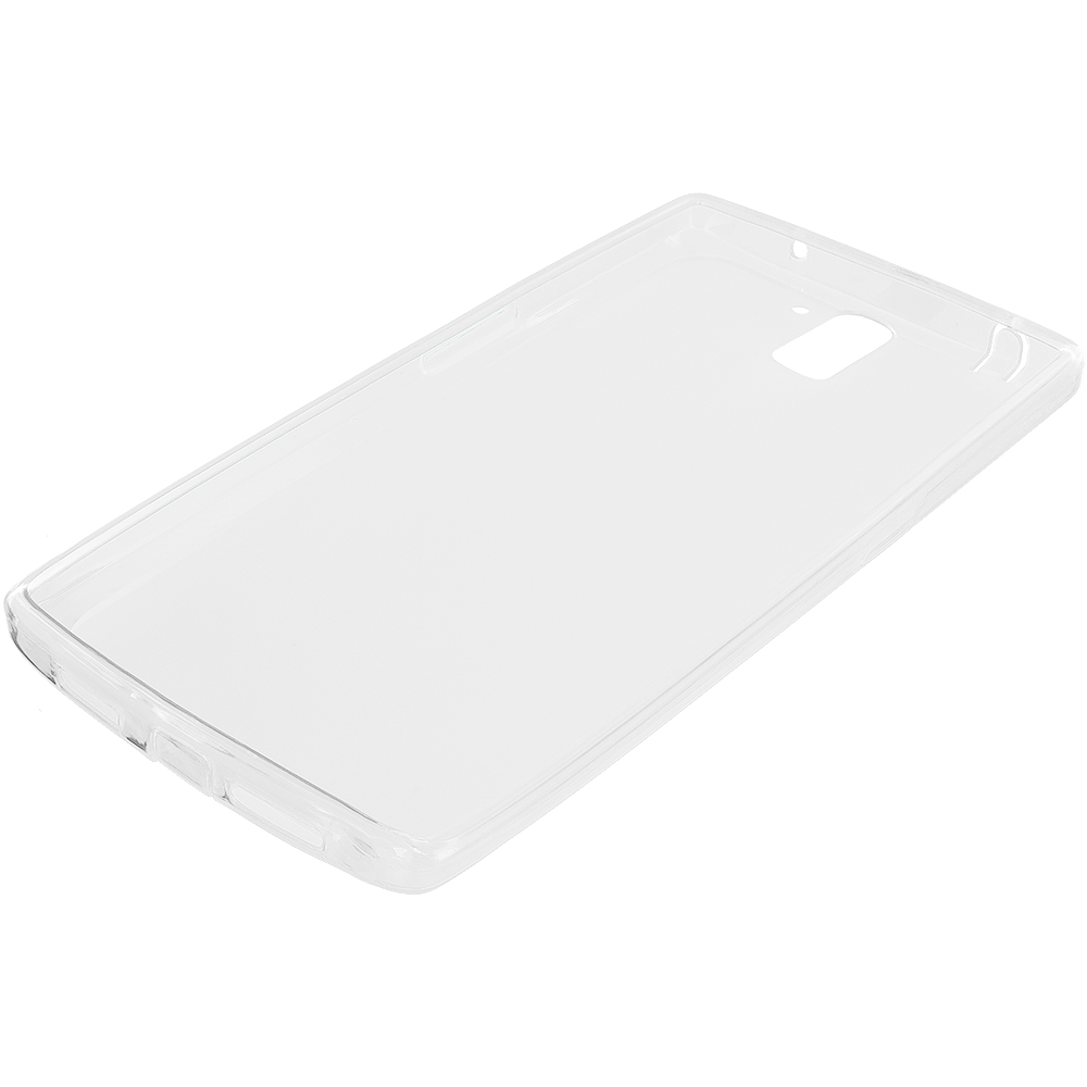OnePlus One Clear TPU Rubber Skin Case Cover