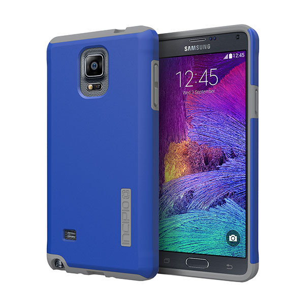 galaxy Note 4 - Periwinkle/Smoke Incipio DualPro Case Cover