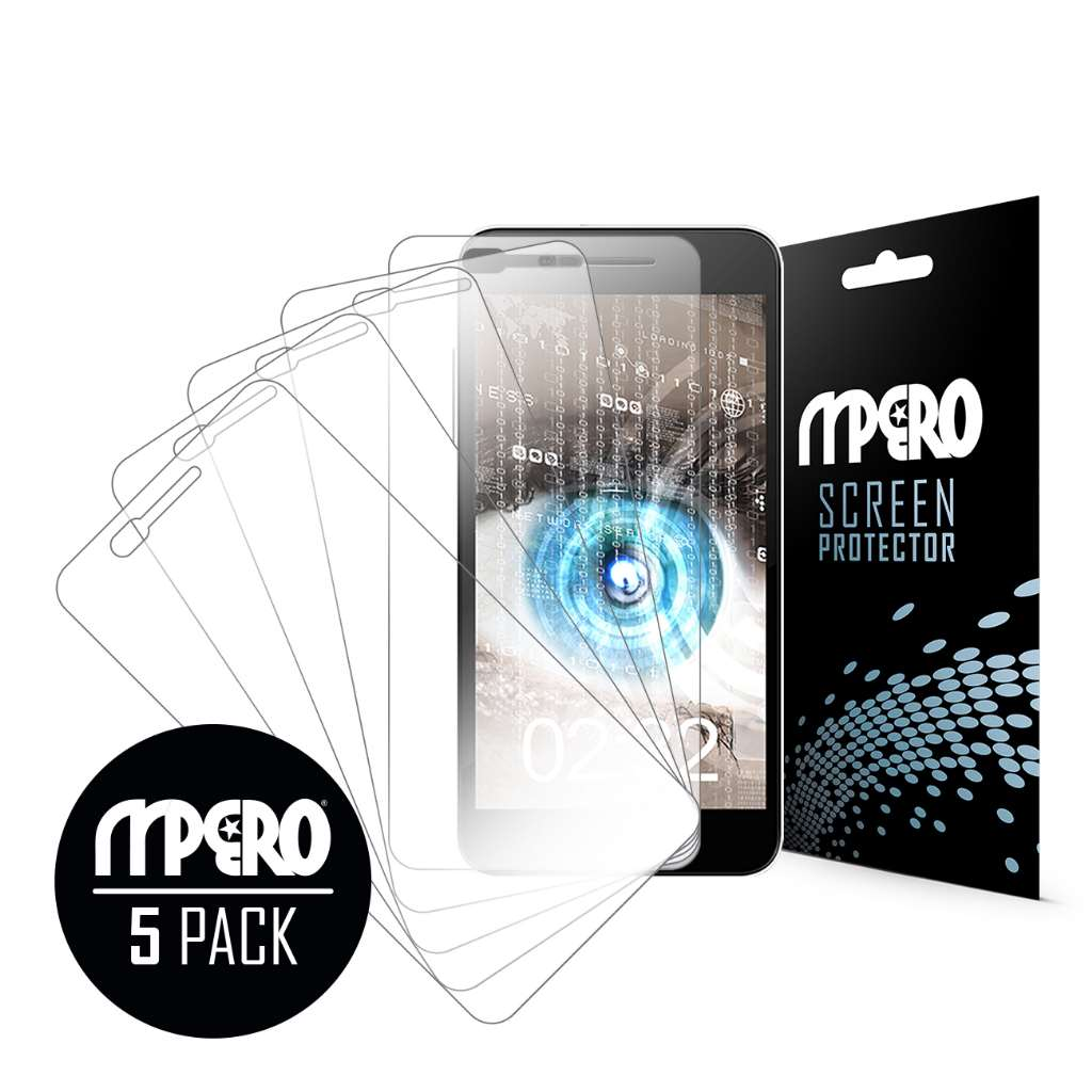 Sky Devices 5.5Q MPERO 5 Pack of Ultra Clear Screen Protectors