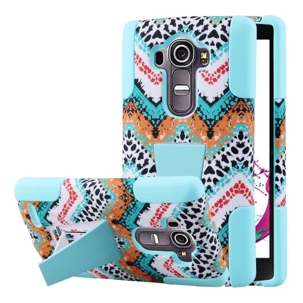 LG G4 - Aqua Safari MPERO IMPACT X - Kickstand Case Cover