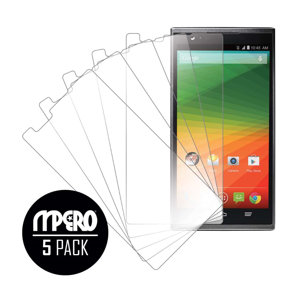 ZTE ZMAX MPERO 5 Pack of Ultra Clear Screen Protectors