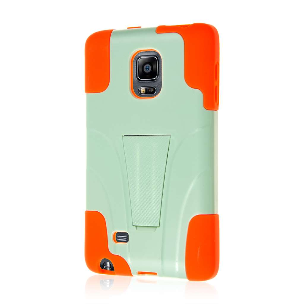Samsung Galaxy Note Edge - Coral / Mint MPERO IMPACT X - Kickstand Case