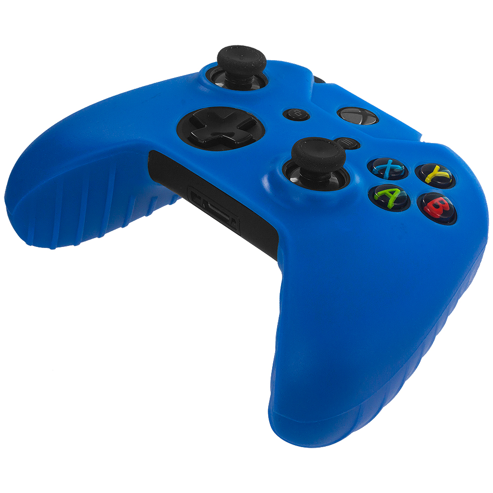 Microsoft Xbox One Blue Silicone Soft Skin Case Cover