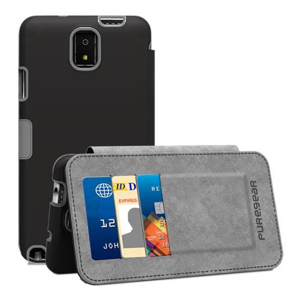 Samsung Galaxy Note 3 PureGear Folio Case w/Kickstand