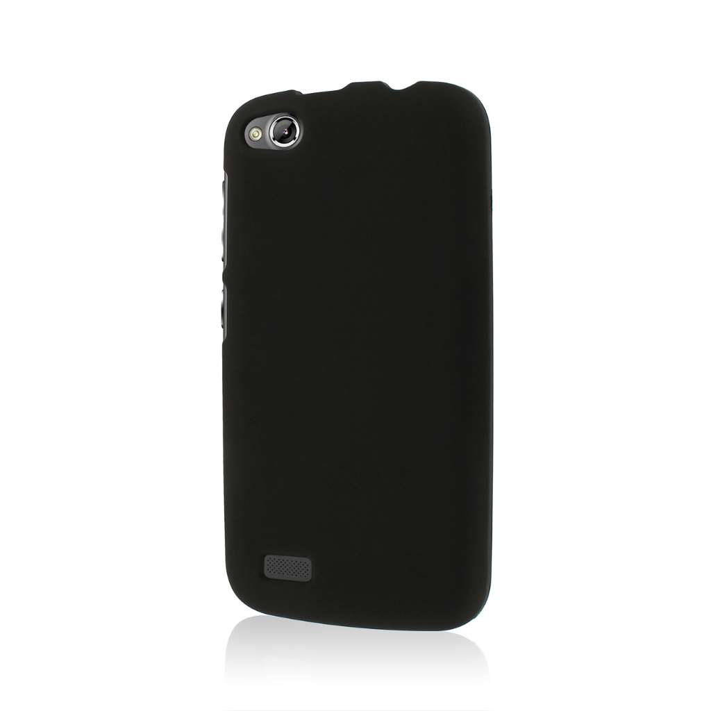 BLU Life Play - Black MPERO SNAPZ - Rubberized Case Cover