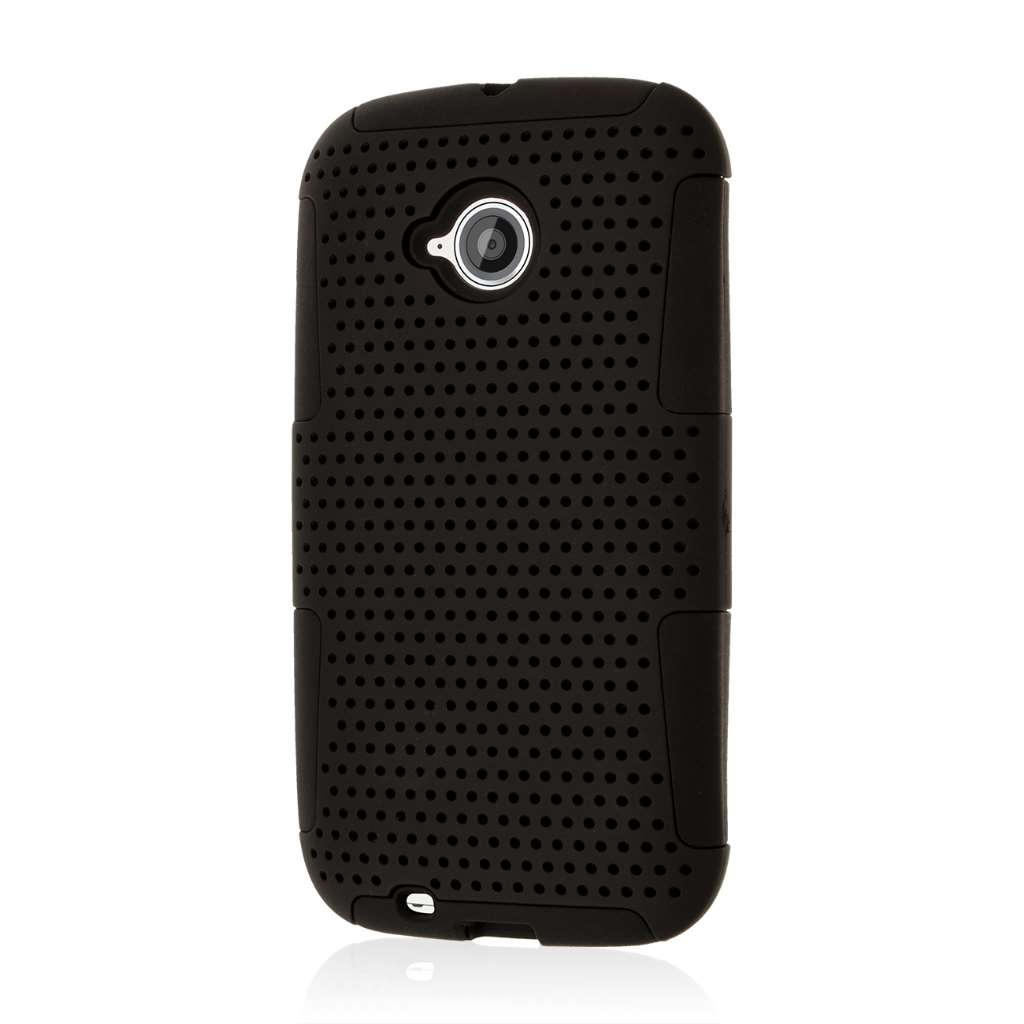 Motorola Moto E 2nd Generation - Black MPERO FUSION M - Protective Case