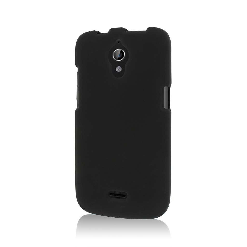 Huawei Vitria - Black MPERO SNAPZ - Rubberized Case Cover