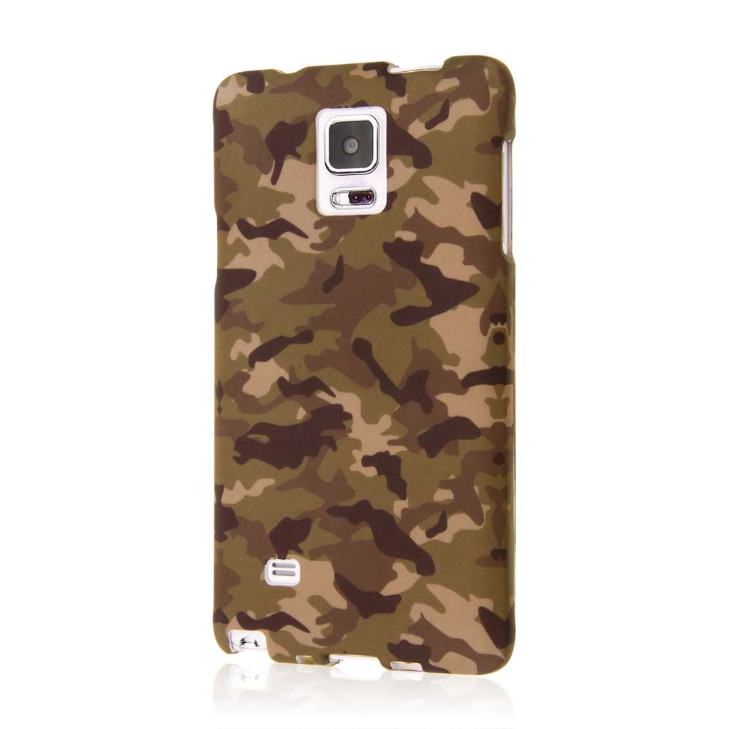 Samsung Galaxy Note 4 - Green Camo MPERO SNAPZ - Case Cover