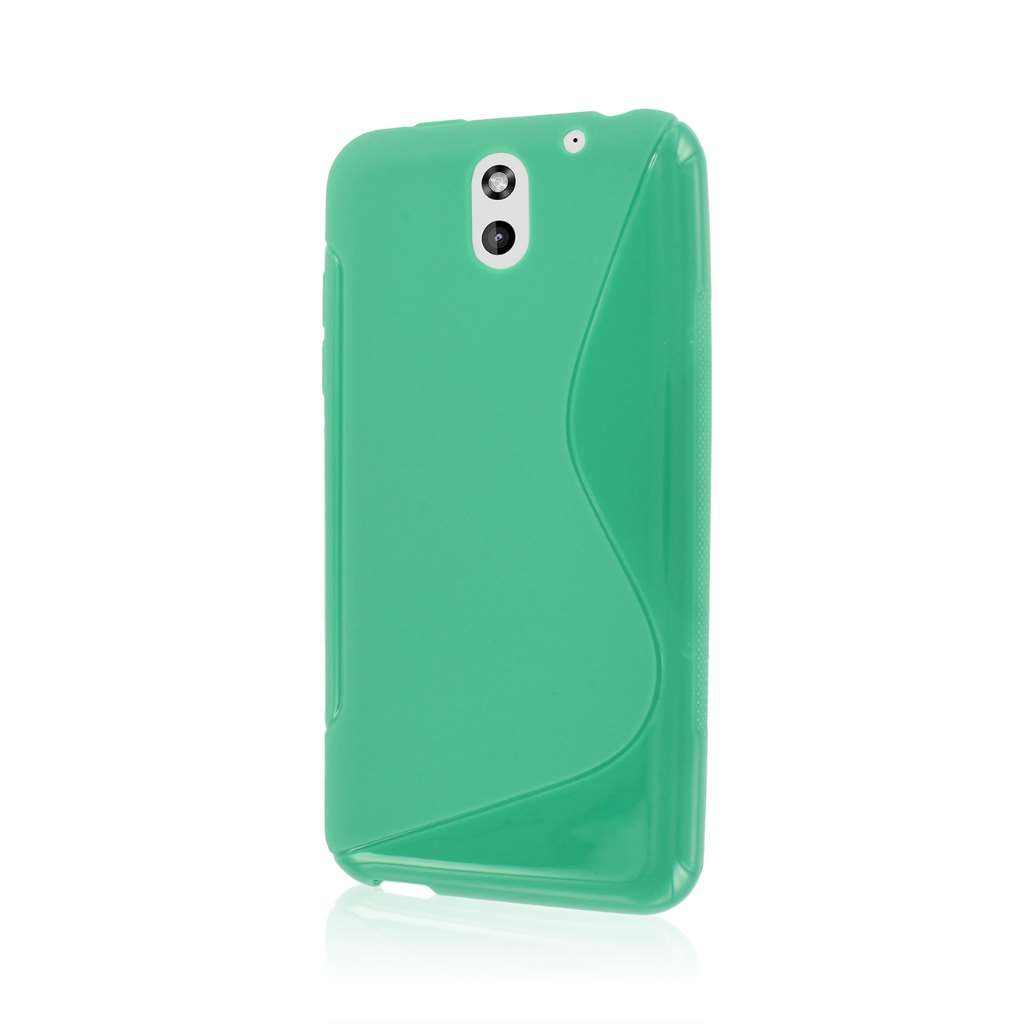 HTC Desire 610 - Mint Green MPERO FLEX S - Protective Case Cover
