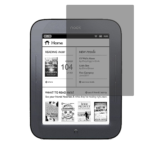 Barnes & Noble Nook Simple Touch Anti Glare LCD Screen Protector