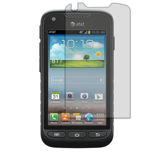 Samsung Rugby Pro i547 Clear LCD Screen Protector