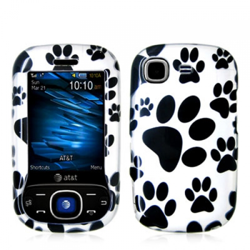 Samsung Strive A687 Dog Paw Design Crystal Hard Case Cover