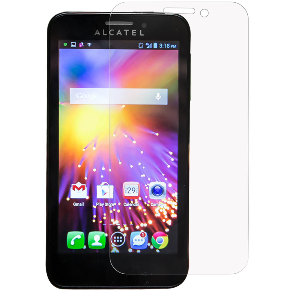 Alcatel One Touch Fierce 2 7040T Anti Glare LCD Screen Protector