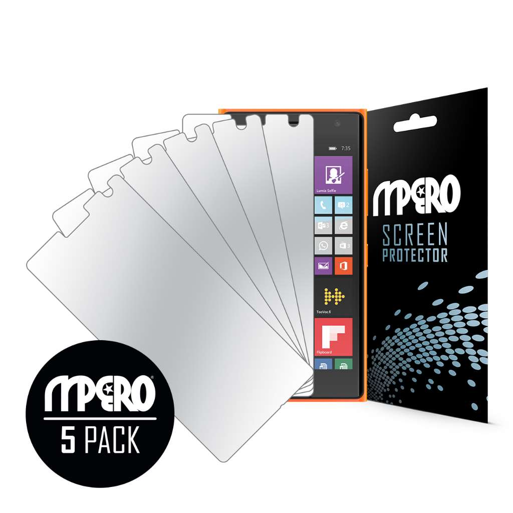 Nokia Lumia 735 MPERO 5 Pack of Mirror Screen Protectors