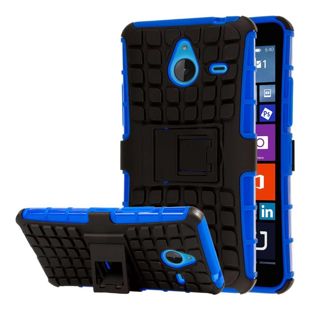Microsoft Lumia 640 - Blue MPERO IMPACT SR - Kickstand Case Cover