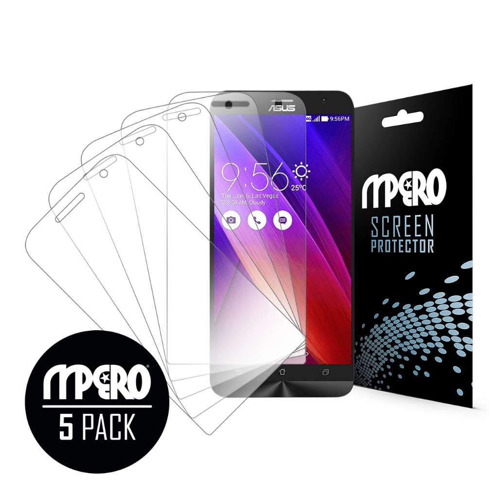 ASUS ZenFone Zoom MPERO 5 Pack of Ultra Clear Screen Protectors